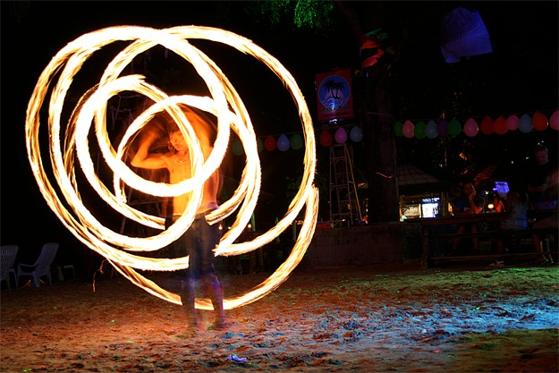 Fire Shows à Phi Phi Islands