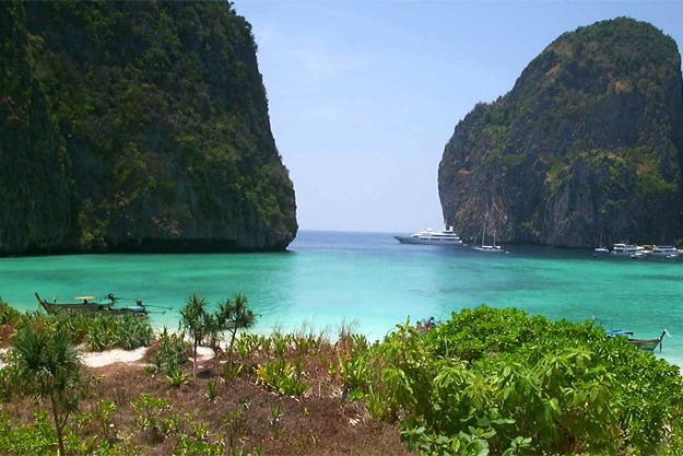 Maya Bay (The Beach) à Phi Phi